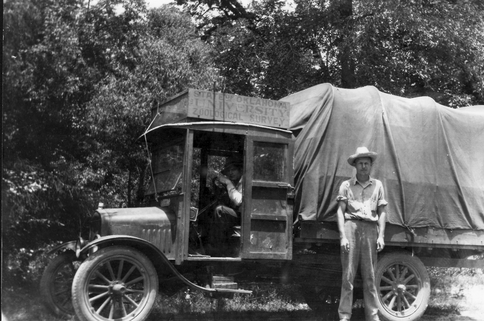 Ortenburger expedition, 1920's.